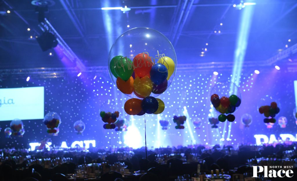 ballons at party